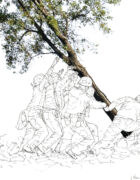 Nature Raising on Iwo Jima (Javier Pérez-Lanzac, GG3 Galerie for sustainable art)