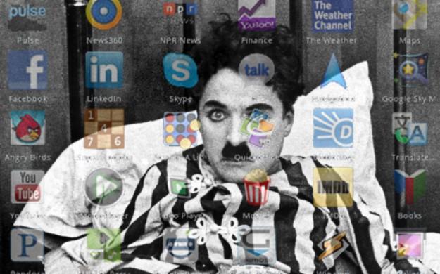 Chaplin contra las Apps (WORDPRESS)